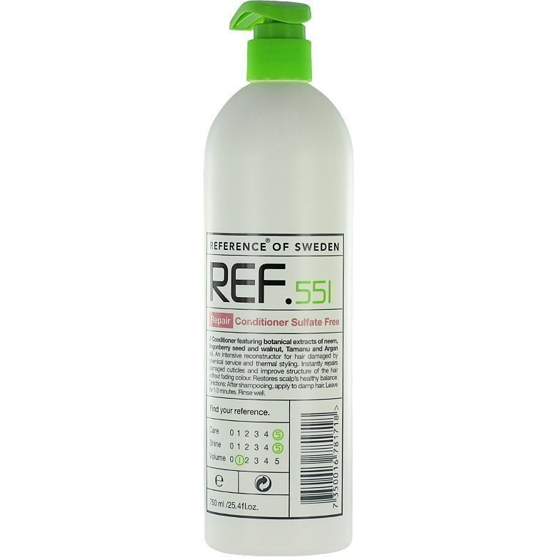 REF Repair Conditioner Sulfat Free 551 750ml