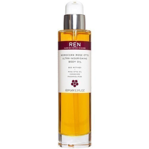 REN Moroccan Rose Otto Ultra-Nourishing Body Oil