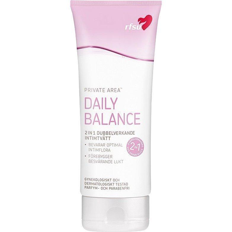 RFSU Daily Balance 2in1 Dubbelverkande Intimtvätt 200ml