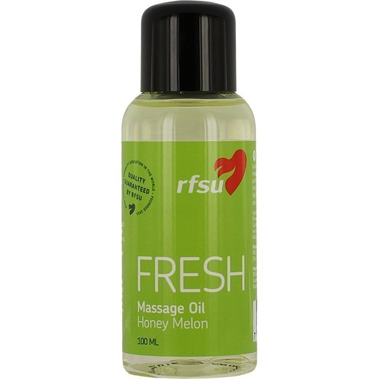 RFSU Fresh Massage Oil Honey Melon 100ml