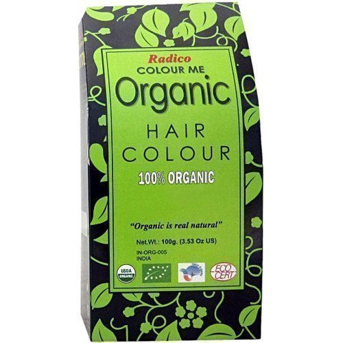 Radico Colour Me Organic Hair Colour Soft Black