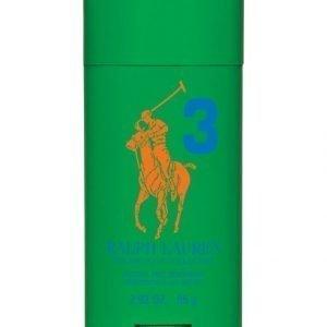 Ralph Lauren Big Pony 3 Green Deodorant Stick Deodorantti Miehelle 85 g