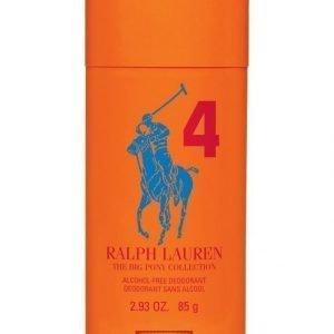 Ralph Lauren Big Pony 4 Orange Deodorant Stick Deodorantti Miehelle 85 g