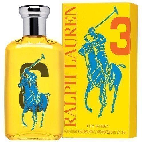 Ralph Lauren Big Pony Women #3 Yellow EdT 50 ml