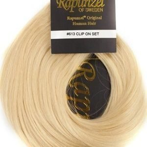 Rapunzel #613 Vaalean Blodni Clip On-set Hair Extensions