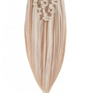 Rapunzel Of Sweden 30 Cm Clip-On Set Original 7 Pieces Hiustenpidennys Cendre Ash Blond