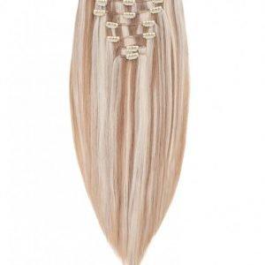 Rapunzel Of Sweden 30 Cm Clip-On Set Original 7 Pieces Hiustenpidennys Cendre Ash Blond