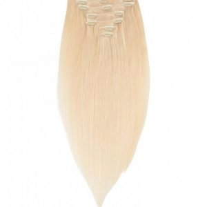 Rapunzel Of Sweden 30 Cm Clip-On Set Original 7 Pieces Hiustenpidennys Light Golden Blond