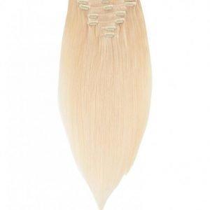 Rapunzel Of Sweden 30 Cm Clip-On Set Original 7 Pieces Hiustenpidennys Light Golden Blond