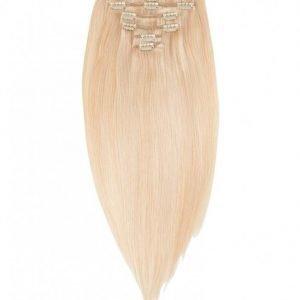 Rapunzel Of Sweden 30 Cm Clip-On Set Original 7 Pieces Hiustenpidennys Light Golden Blond Mix