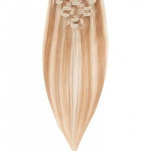 Rapunzel Of Sweden 30 Cm Clip-On Set Original 7 Pieces Hiustenpidennys Scandinavian Blonde