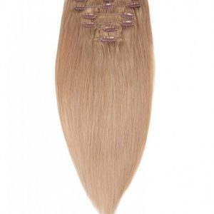 Rapunzel Of Sweden 40 Cm Clip-On Set Original 7 Pieces Hiustenpidennys Cendre Ash Blond