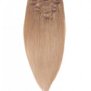 Rapunzel Of Sweden 40 Cm Clip-On Set Original 7 Pieces Hiustenpidennys Cendre Ash Blond