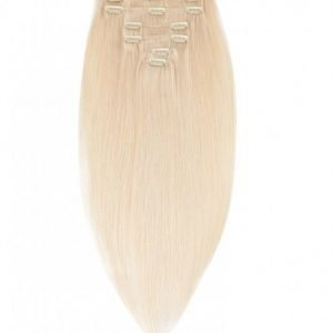 Rapunzel Of Sweden 40 Cm Clip-On Set Original 7 Pieces Hiustenpidennys Light Blond