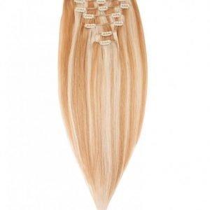 Rapunzel Of Sweden 40 Cm Clip-On Set Original 7 Pieces Hiustenpidennys Summer Blond