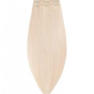 Rapunzel Of Sweden 50 Cm Clip-On Set Original 3 Pieces Hiustenpidennys Light Blond