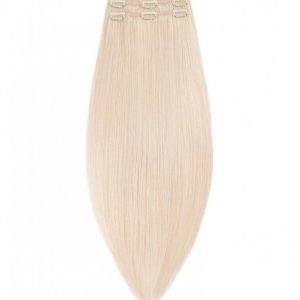Rapunzel Of Sweden 50 Cm Clip-On Set Original 3 Pieces Hiustenpidennys Light Blond