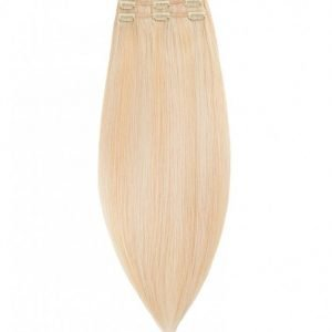 Rapunzel Of Sweden 50 Cm Clip-On Set Original 3 Pieces Hiustenpidennys Light Golden Blond Mix