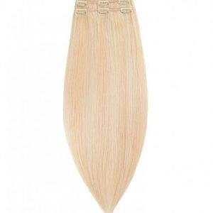 Rapunzel Of Sweden 50 Cm Clip-On Set Original 3 Pieces Hiustenpidennys Light Golden Blond Mix