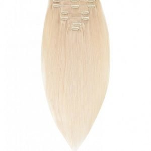 Rapunzel Of Sweden 50 Cm Clip-On Set Original 7 Pieces Hiustenpidennys Light Blond