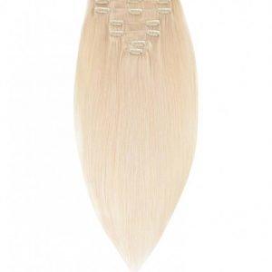 Rapunzel Of Sweden 50 Cm Clip-On Set Original 7 Pieces Hiustenpidennys Light Blond