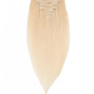 Rapunzel Of Sweden 50 Cm Clip-On Set Original 7 Pieces Hiustenpidennys Light Golden Blond