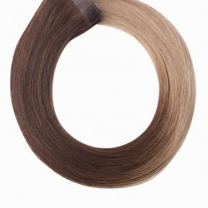 Rapunzel Of Sweden 50 Cm Quick & Easy Original Ombre Hiustenpidennys Ash Brown
