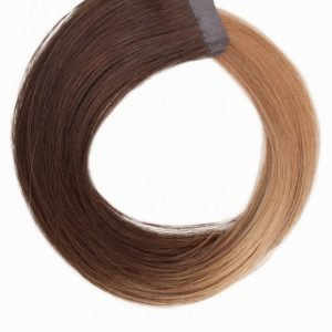 Rapunzel Of Sweden 50 Cm Quick & Easy Original Ombre Hiustenpidennys Medium Brown
