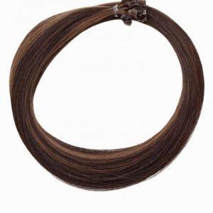 Rapunzel Of Sweden Nail Hair Original 50 Cm Hiustenpidennys Chocolate