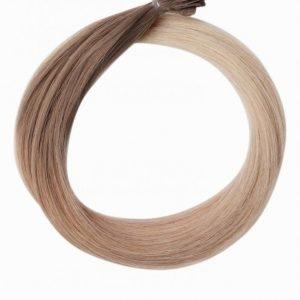 Rapunzel Of Sweden Nail Hair Original Rakt Ombre 50cm Hiustenpidennys Cendre Ash Blond