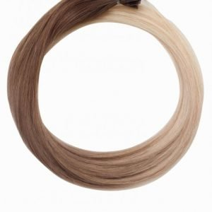 Rapunzel Of Sweden Nail Hair Original Rakt Ombre 50cm Hiustenpidennys Medium Ash