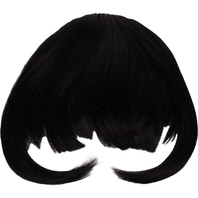 Rapunzel of Sweden Clip In Hair Fringe #1 Intense Black