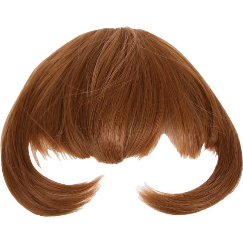 Rapunzel of Sweden Clip In Hair Fringe #18/27 Golden Brown