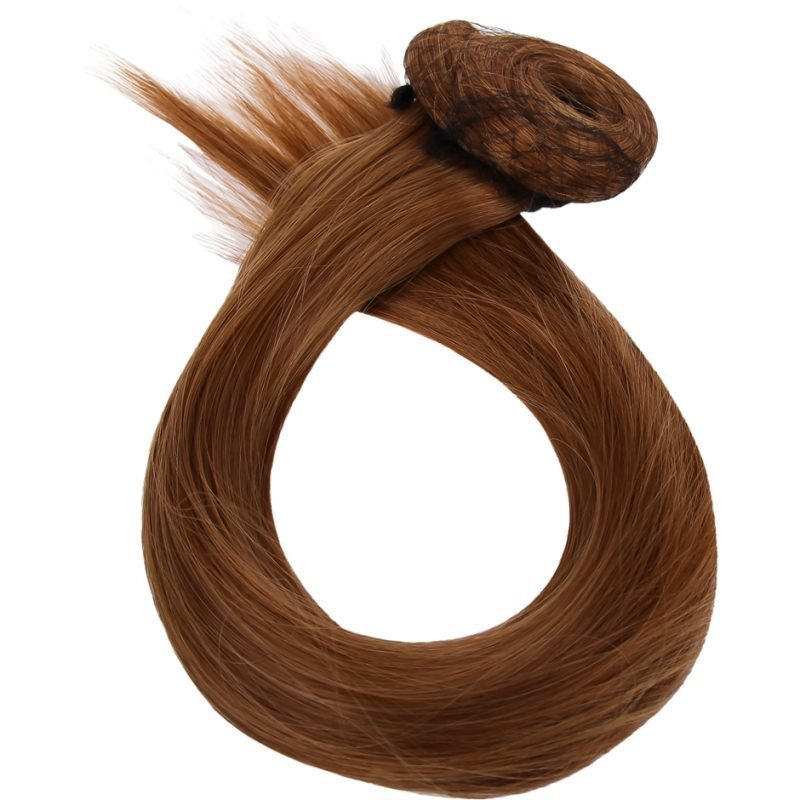 Rapunzel of Sweden Clip-On Ponytail #12 Honey Brown 40cm