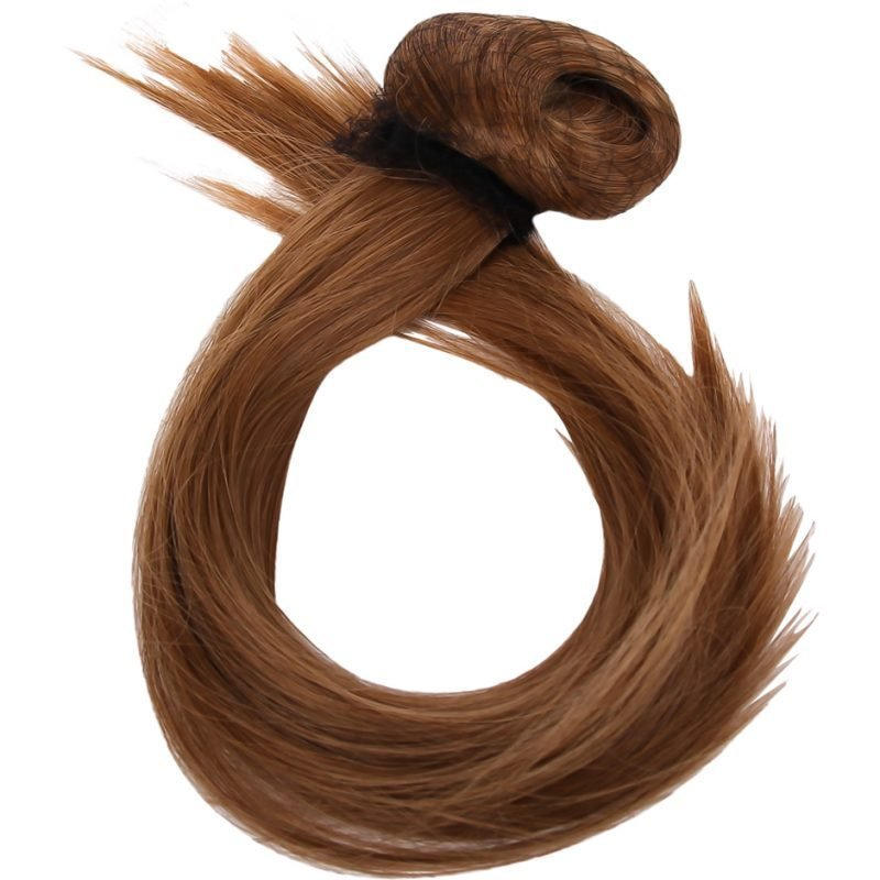 Rapunzel of Sweden Clip-On Ponytail #18/27 Golden Brown 40cm