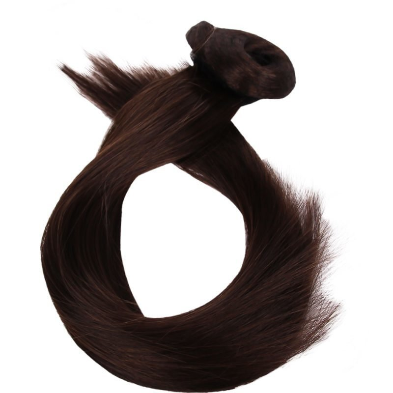 Rapunzel of Sweden Clip-On Ponytail #2 Chocolate Brown 40cm