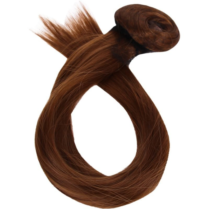 Rapunzel of Sweden Clip-On Ponytail #30/8 Chestnut Brown 40cm