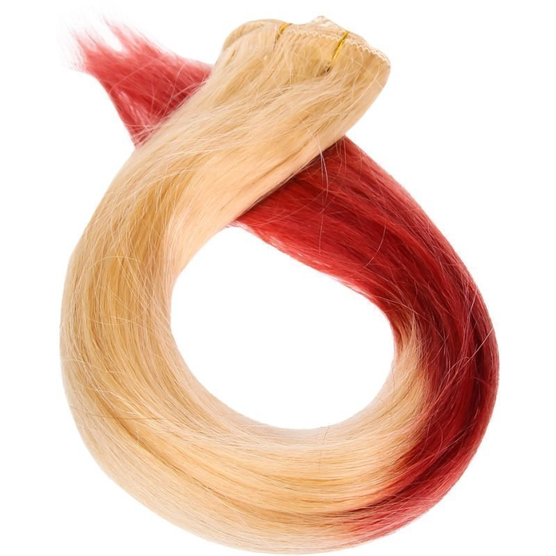 Rapunzel of Sweden Dip Dye Clip-In Clodberry 50cm