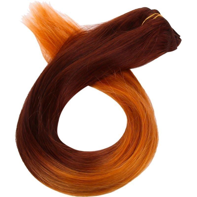 Rapunzel of Sweden Dip Dye Clip-In Fire Goddess 50cm