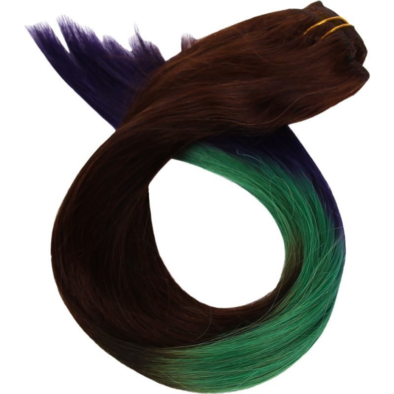 Rapunzel of Sweden Dip Dye Clip-In Rock Chic 50cm