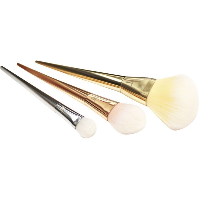 Real Techniques Bold Metals Collection Powder Brush Shadow Brush Blush Brush