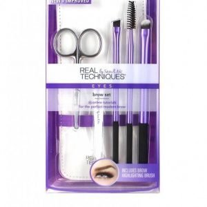 Real Techniques Brow Set Meikkisetti Purple