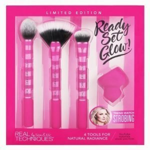 Real Techniques Ready Set Glow Meikkisivellinsetti Pink