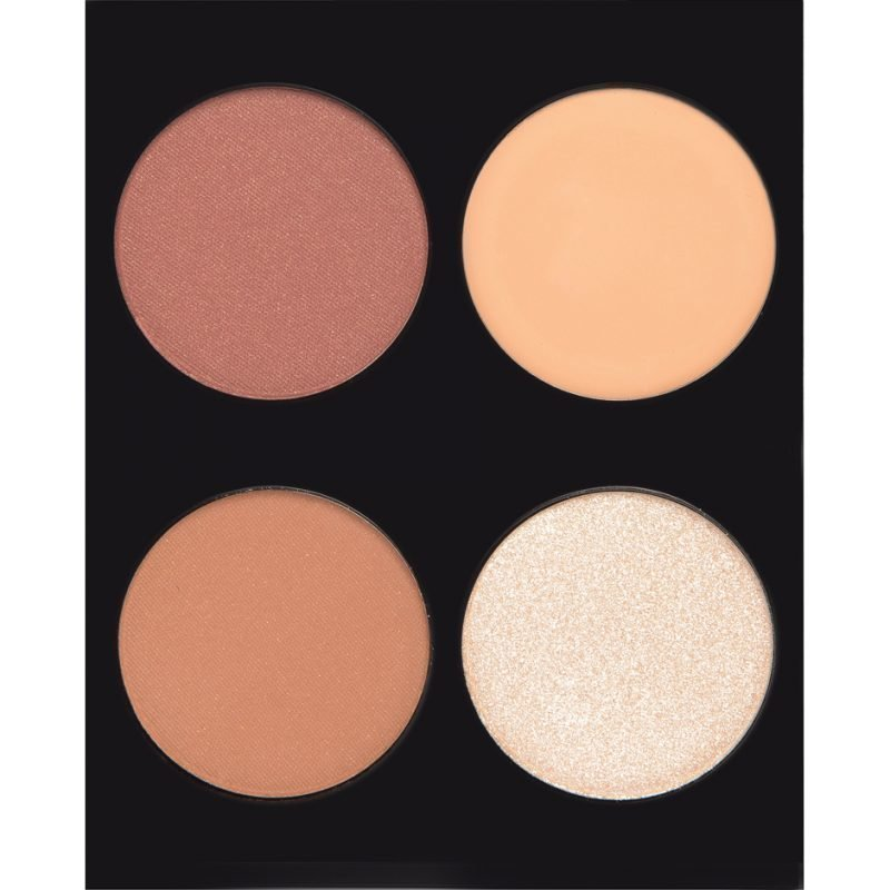 Rebecca Stella Sculpt & Define Highlight & Contour Kit 4 Pcs Multicolor