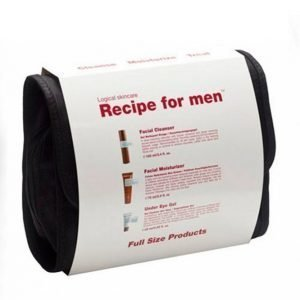 Recipe For Men 3 Way Gift Bag White Kasvojenhoitosetti