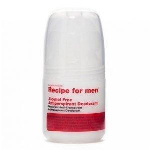 Recipe For Men Alcohol Free Antiperspirant Deo. 60ml Deodorantti