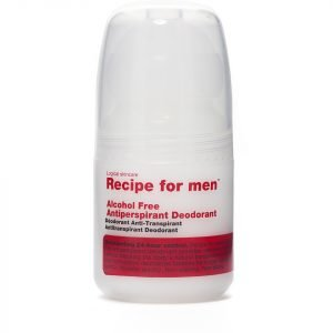 Recipe For Men Alcohol Free Antiperspirant Roll On Deodorant 60 Ml