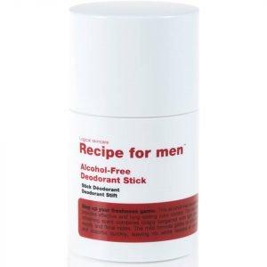 Recipe For Men Alcohol Free Deodorant Stick 75 Ml
