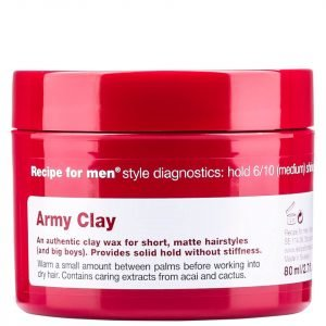 Recipe For Men Army Clay Wax 80 Ml