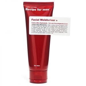 Recipe For Men Facial Moisturiser + 75 Ml